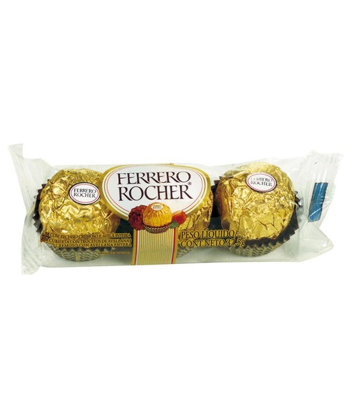 Chocolate Ferrero Rocher 37,5g.
