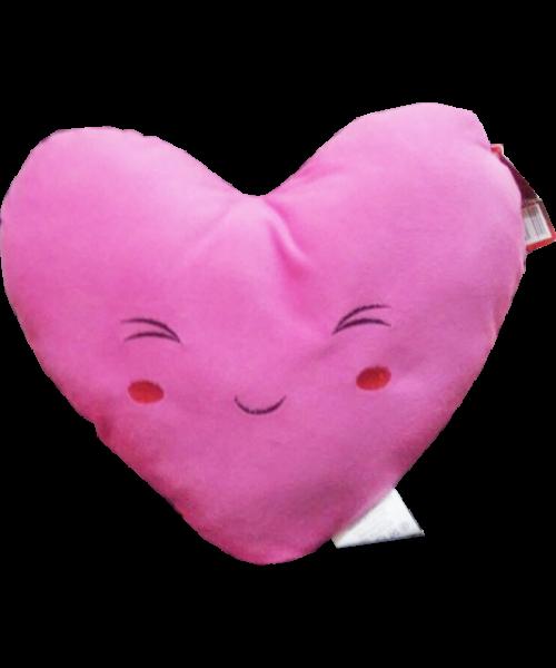 Pelúcia Coração Rosa